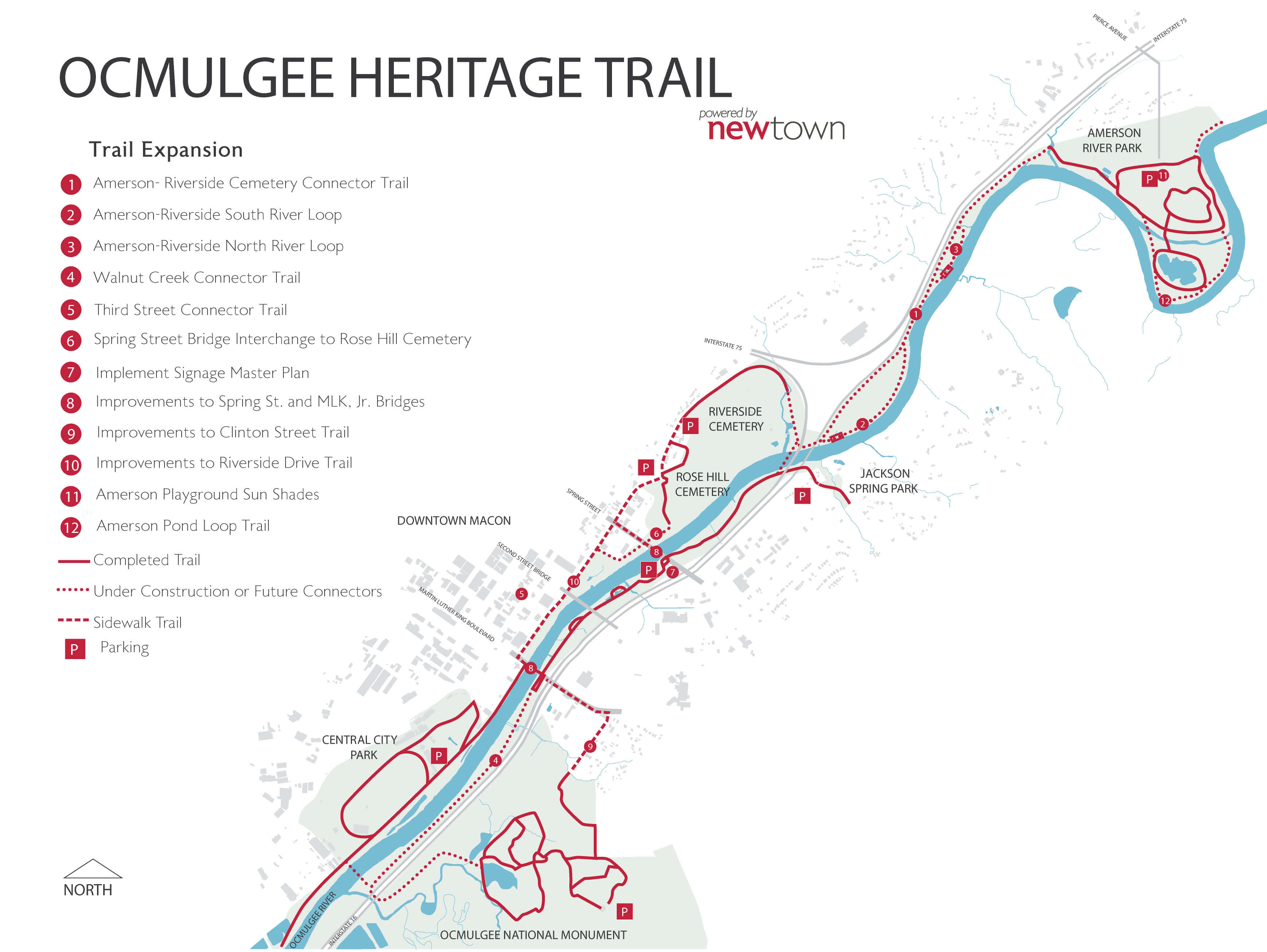 Ocmulgee Heritage Trail Newtown Macon