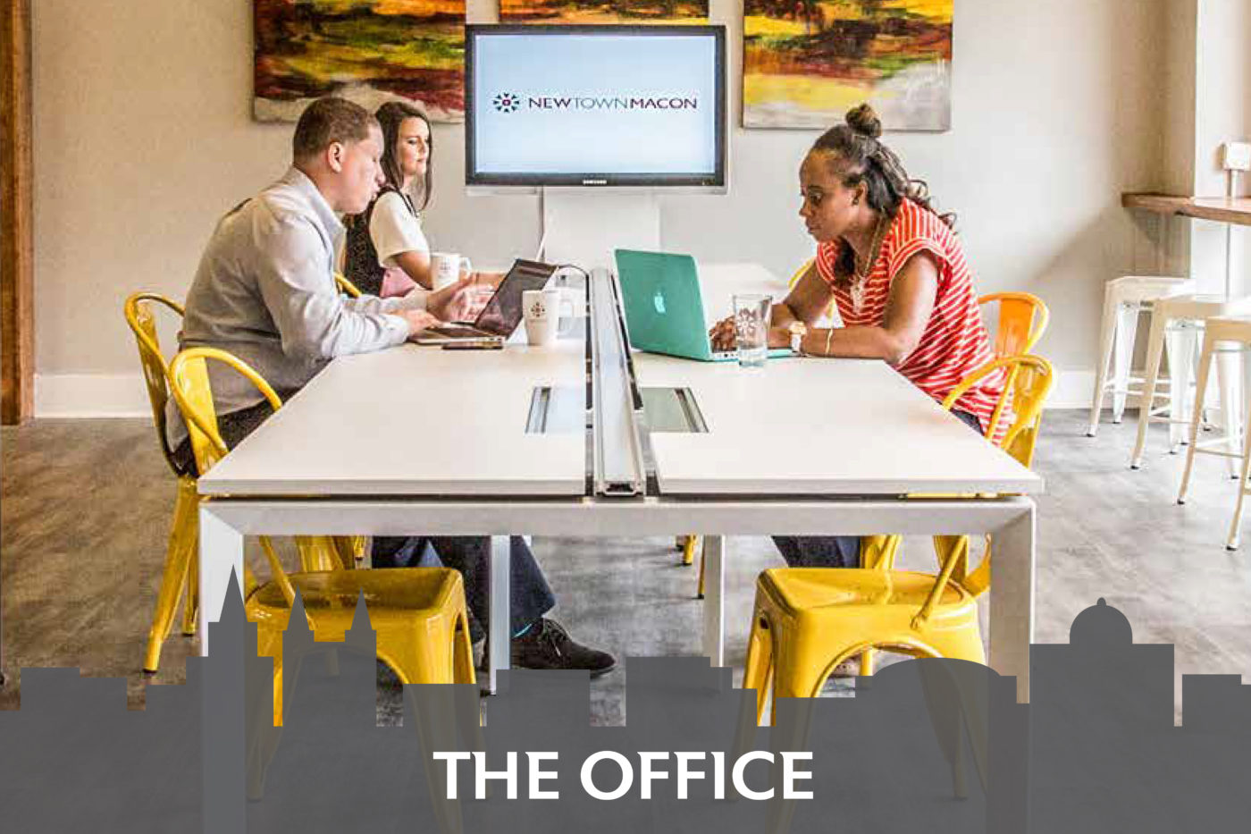 Coworking space available
